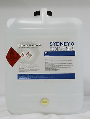 IsoPropyl Alcohol 100%  20 Litre