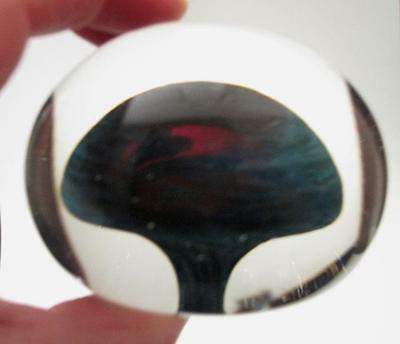 Quality Handcrafted Studio Art Glass Paperweight