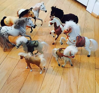 Lot Of Toy Horses - 9 Total - Includes Grand Champions