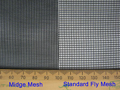 Flyscreen, flywire, sandfly, midge mesh 1220mm x 30M Full Roll ** FREE POST**
