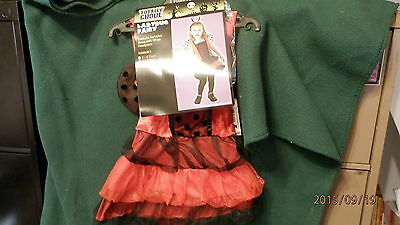 Totally Ghoul Ladybug Fairy- 4T - 6T