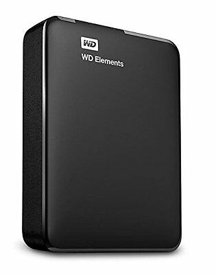 WD 2TB Elements Portable External Hard Drive  USB 3.0 Win PC NEW!