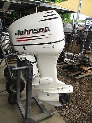 115 hp Johnson 2003 model xl 25 inch outboard immaculate