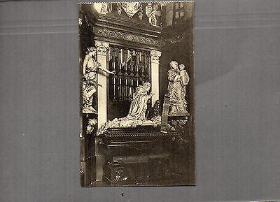Belgium Gand Cathedral interior vintage 1920's unposted A76