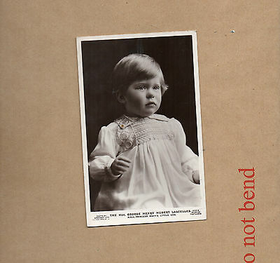 Real Photo The Hon.George Henry Hubert Lascelles as A child Princess Marys s Br1