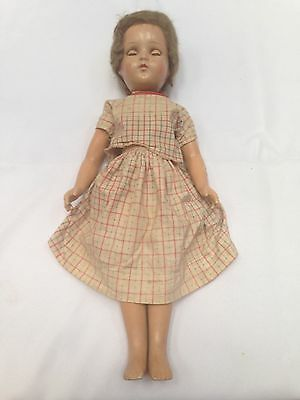 "Vintage 1 Arranbee ""R & B"" 20"" Composition Doll"