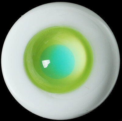Nice Yellow-Green Iris 16mm Glass Eyes for Joint Reborn 1/4 BJD Dollfie