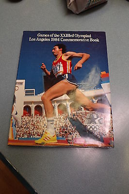 GAMES OF THE 23rd OLYMPIAD LOS ANGELES 1984 COMMEMORATIVE BOOK 23rd OLYMPIC