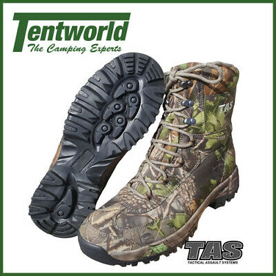 TAS Spartan Treecam Camouflage Waterproof Hunting Boot - Size 10 UK