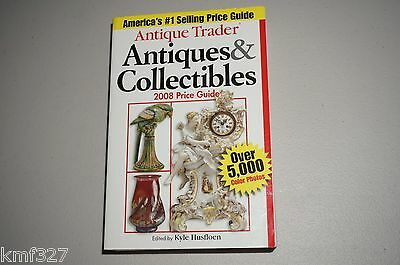 Signed Antique Trader Antiques & Collectibles 2009 Price 2008, Paperback Book