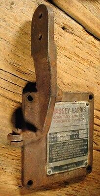 Massey Harris / Cushman Cub Hit Miss Gas Engine Cast Iron Crankcase Rear Cover