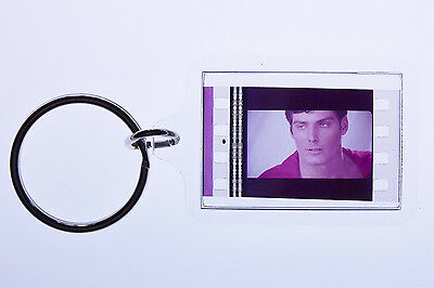Superman 2 - 35mm Film Cell Key Ring, Keyfob Gift for the Movie Buff