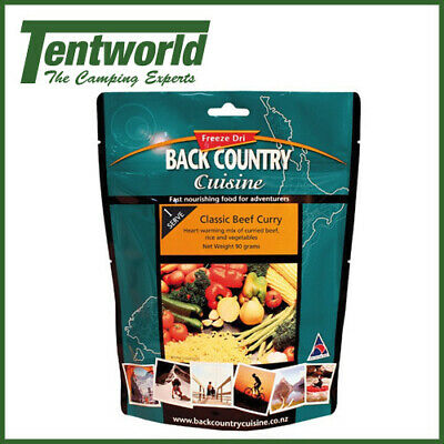 Backcountry Classic Beef Curry Food - 1 Serve