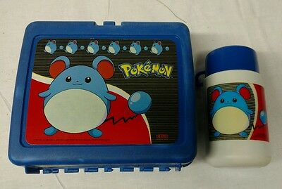 1990s Pokemon lunch box and thermos