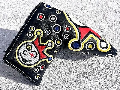SCOTTY CAMERON M & G JACKPOT JOHNNY BLACK TOUR Putter HEADCOVER *Gallery Only*