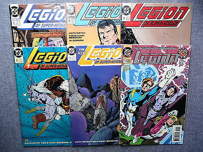 LEGION OF SUPER-HEROES #'s 0-52 Complete Run!! | 1989 Series 4 | Keith Giffen