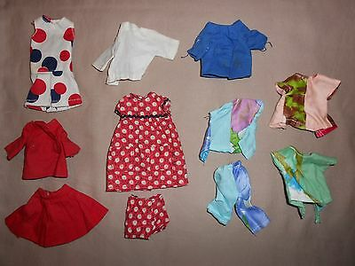 Vintage Skipper Pattern Made Doll Clothing Lot