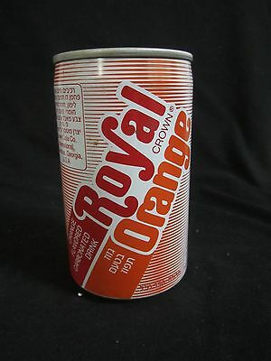 RC cola  ISRAEL : a rare 330ml empty can, lat 80's, made in west bank,palestine.
