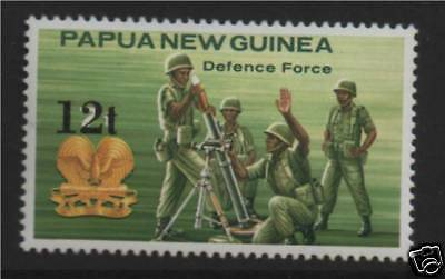 Papua New Guinea 1985 Defence Force ovpt SG495 MNH