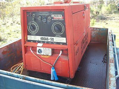 Welder Lincoln 450-As 50