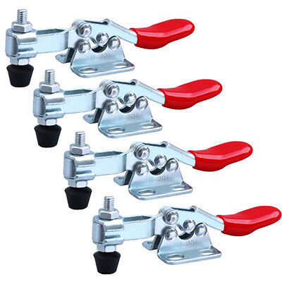 Horizontal Handle Toggle Clamp Holding Capacity 60 lb 201 Pack of 4-piece