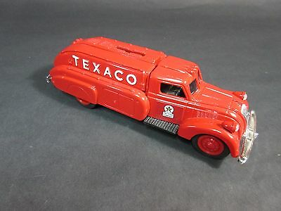 Die-Cast Texaco 1939 Dodge Airflow Truck Bank 1993 Ertl w Key and Box