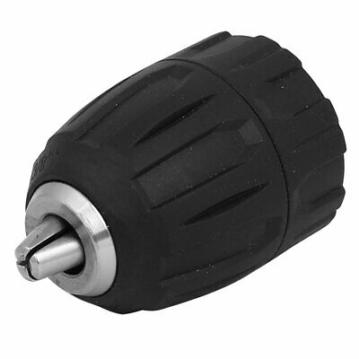 3/8-24UNF Connect 0.8mm-10mm Capacity Plastic Housing Keyless Drill Chuck