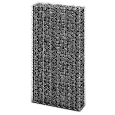 S# New Gabion Wall 4mm Strong Metal Gabions Basket Cage 200x85cm Galvanized Stee