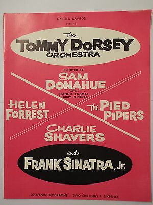 The Tommy Dorsey Orchestra & Friends In Concert Programme