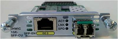 ~NEW SEALED~ CISCO EHWIC-1GE-SFP-CU 1-Port Dual Mode WAN Card ~FAST DELIVERY~
