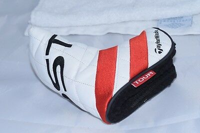 NEW Taylormade Ghost Tour blade putter red stripe headcover head cover