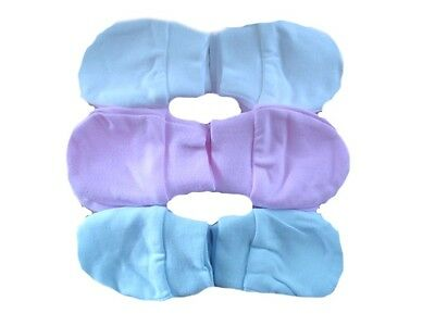 2 Pairs Of Baby Boy Girl Newborn To 6 Months Anti Scratch Non Scratch Mitts