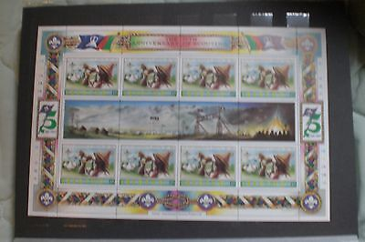 Lesotho  Stamps-  Scouting Sheetlet Mint Never Hinged