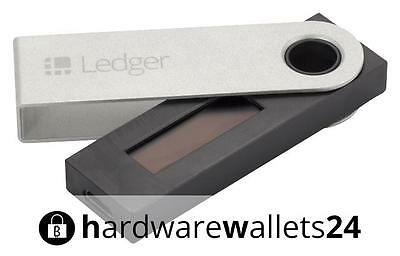 Ledger Nano S Hardware Wallet *Bitcoin *Ethereum *Ripple... *NEU