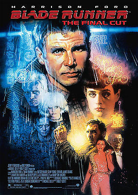 Blade Runner (1982) V4 - A1/A2 POSTER ***BUY ANY 2 AND GET 1 FREE OFFER***
