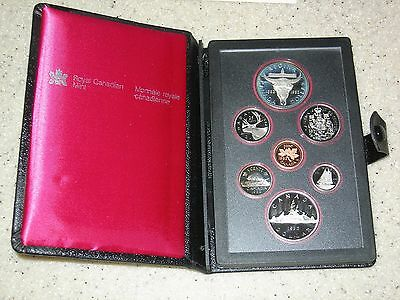 1982 Canada Double Dollar Proof Set In Case