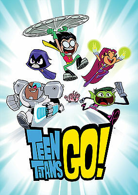 Teen Titans Go (2013-) - A1/A2 POSTER **BUY ANY 2 AND GET 1 FREE OFFER**