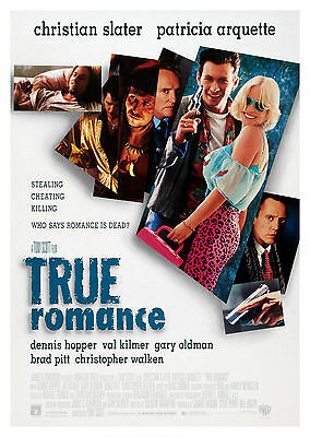 True Romance (1993) - A1/A2 POSTER **BUY ANY 2 AND GET 1 FREE OFFER**