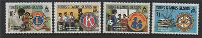 Turks & Caicos 1980 Serving The Community SG 609/12 MNH