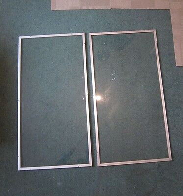 secondary window glazing aluminium frame safety glass rubber sealed - A