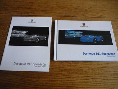 Porsche 911 Speedster  Prestige Car Brochure 2011 German