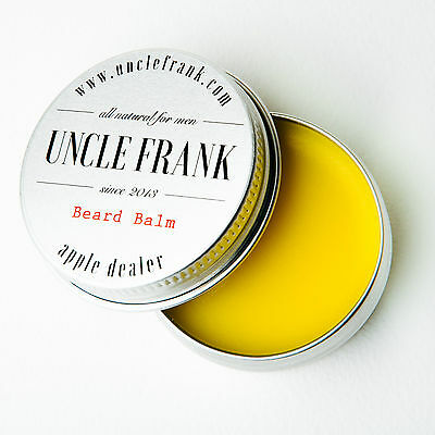 Beard Balm 100% Natural, by Uncle Frank. Fantastic gift for Boyfriend Husband