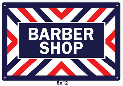 Old Fashion  Barber Shop Reproduction Metal Sign