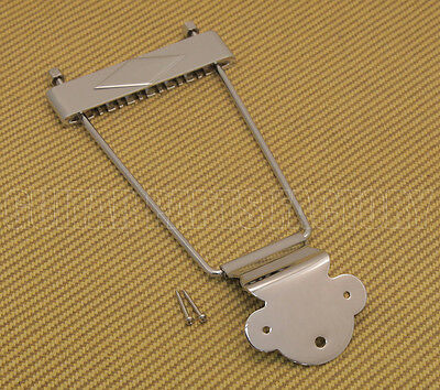 TP-0630-010 Chrome 12-string Trapeze Tailpiece Hollowbody/Archtop/Jazz Guitar