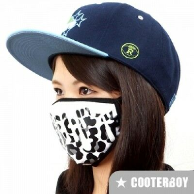 CooterBoy Charcoal 100/% Cotton Face Mask Adult Anti-dust Surgical K-pop Mask