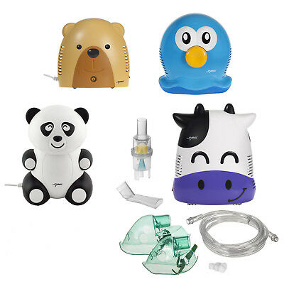 Inhalateur vache ours méduses panda enfants medical traitement