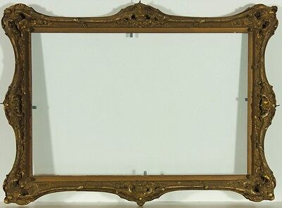 Small Early 20th Century Ornate Gilt Picture Frame