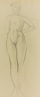 Elinor Bellingham-Smith - Early 20th Century Graphite Drawing, Nude