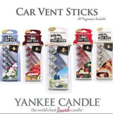 Yankee Candle Car Vent Stick / Car Air Freshener 4 Pack