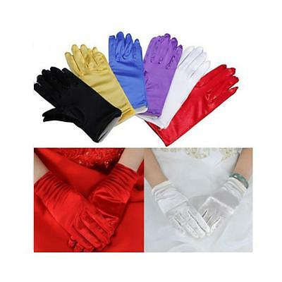 Costume Dance Evening Party Wrist Short Gloves Wedding